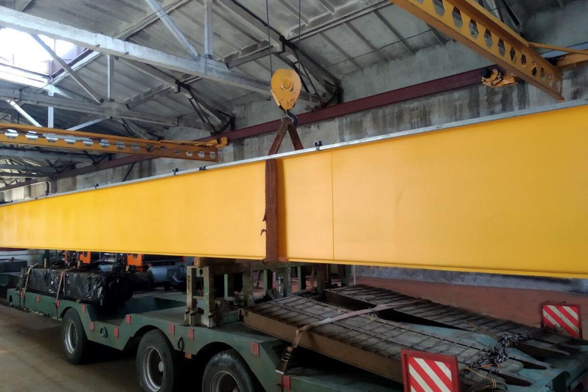 Опорная кран-балка грузоподъемностью 10 тонн