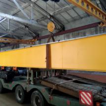 Опорна кран-балка вантажопідйомністю 10 тон